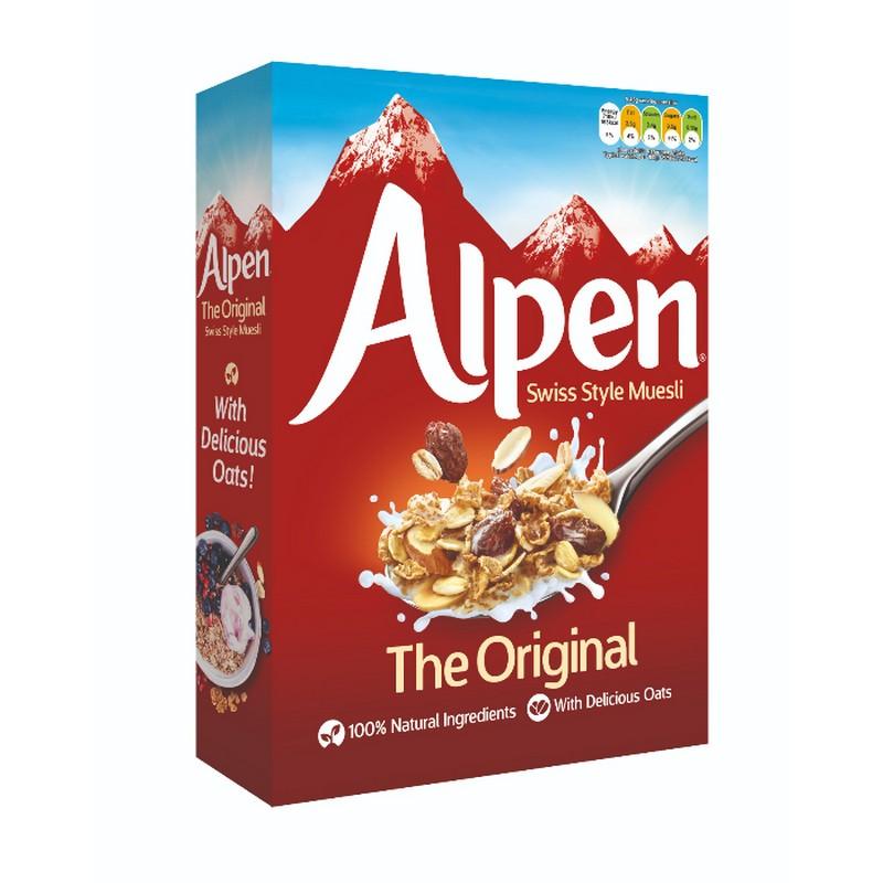 ALPEN 原味穀物早餐550G