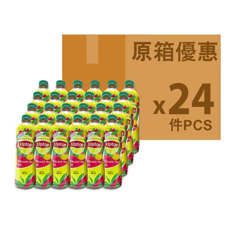 LIPTON桃味茶455ml