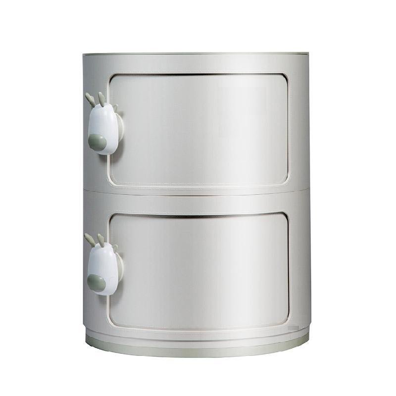 小鹿設計 2層圓形收納柜