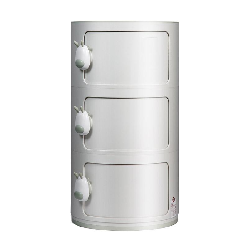 小鹿設計 3層圓形收納柜