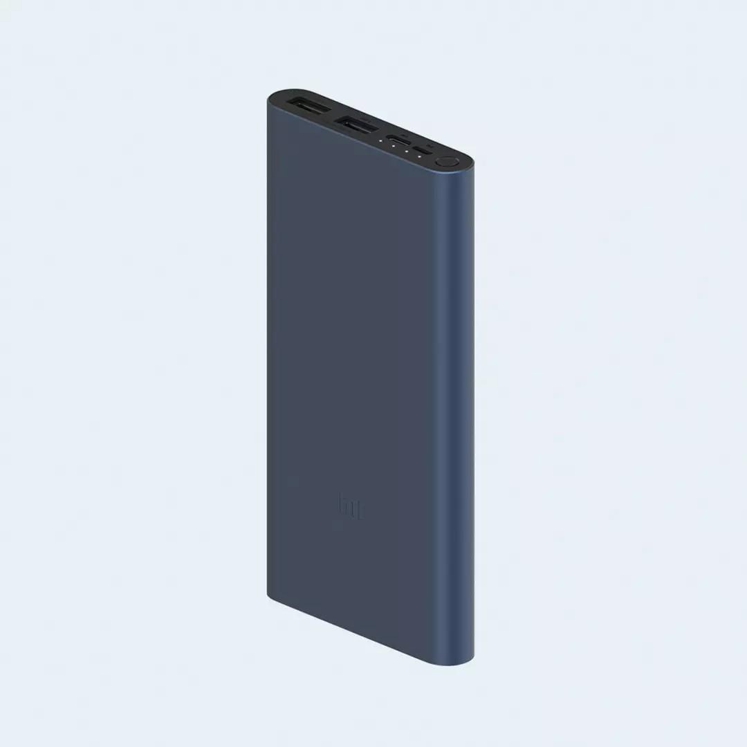 小米移動電源3 10000mAh 快充國際版 藍錆色