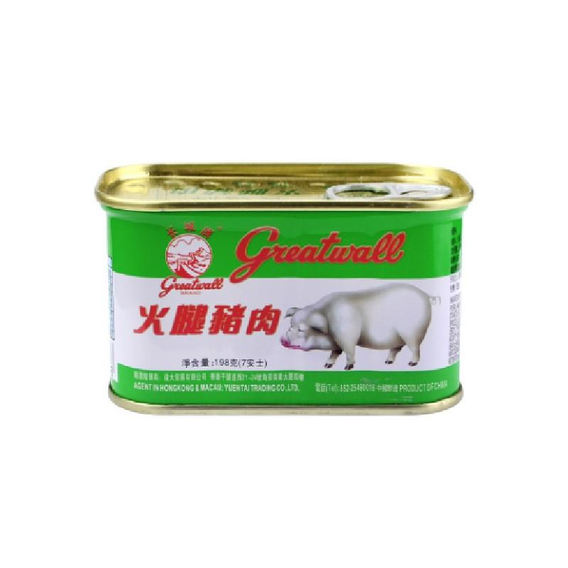 長城牌火腿豬肉
