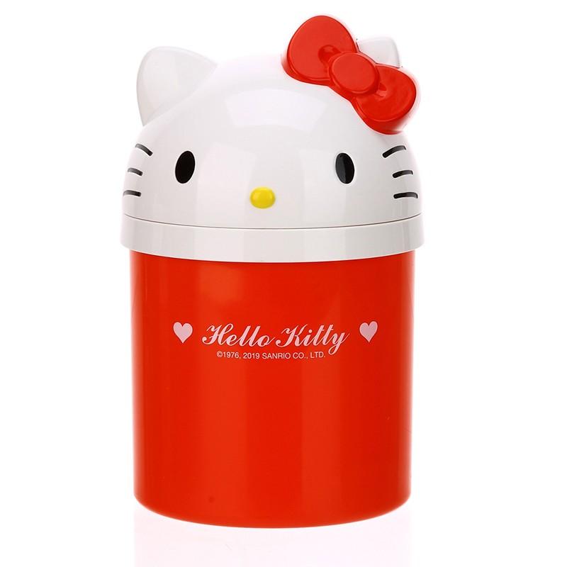 HELLO KITTY桌面垃圾桶