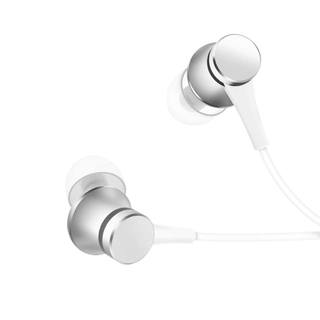 小米清新版塞耳有線耳機  國際版 銀