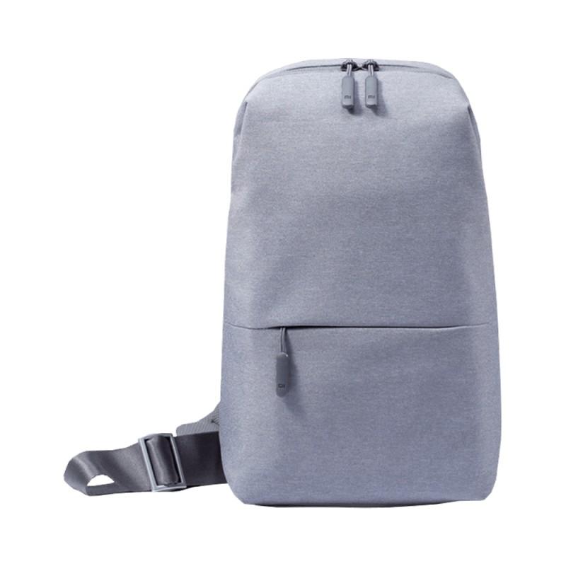 小米小米多功能都市休閒胸包國際版 淺灰色