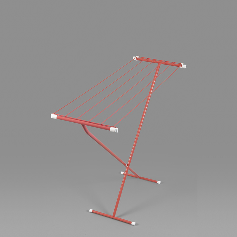 RORETS摺疊式晾衣架(紅)