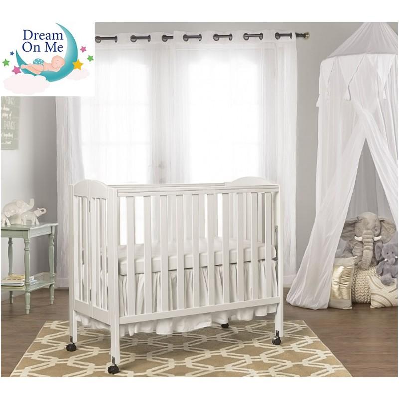 Dream On Me木製3合1 BB可摺式嬰兒床架 (樺木)