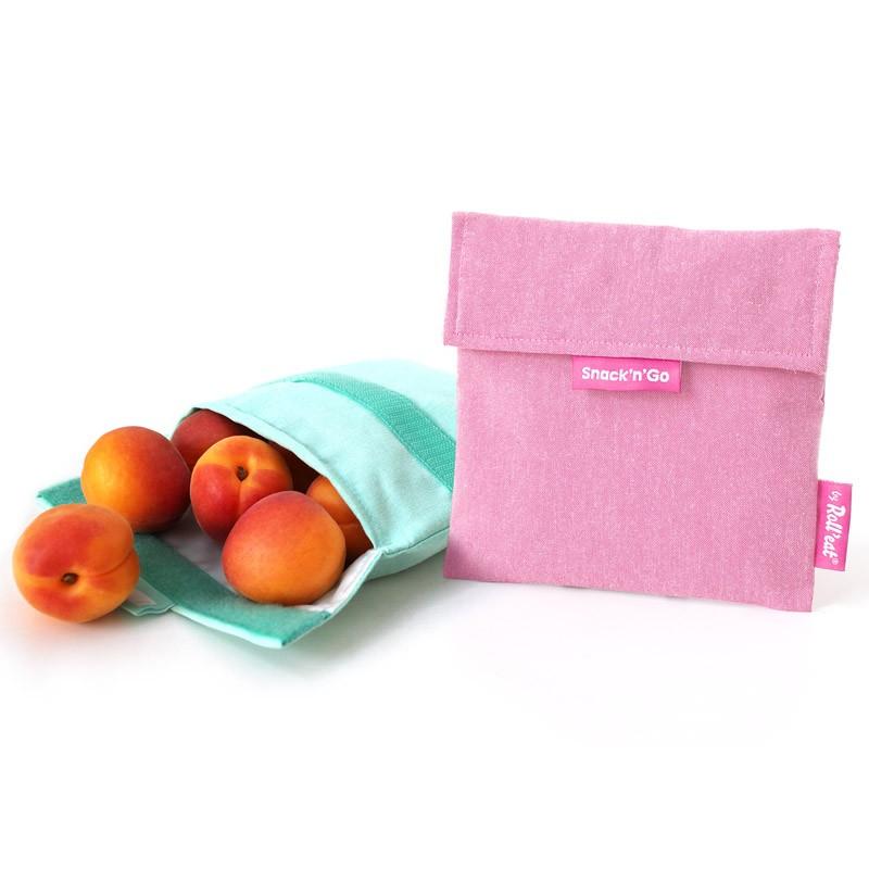 Snack'n'Go 環保食物袋-橙色