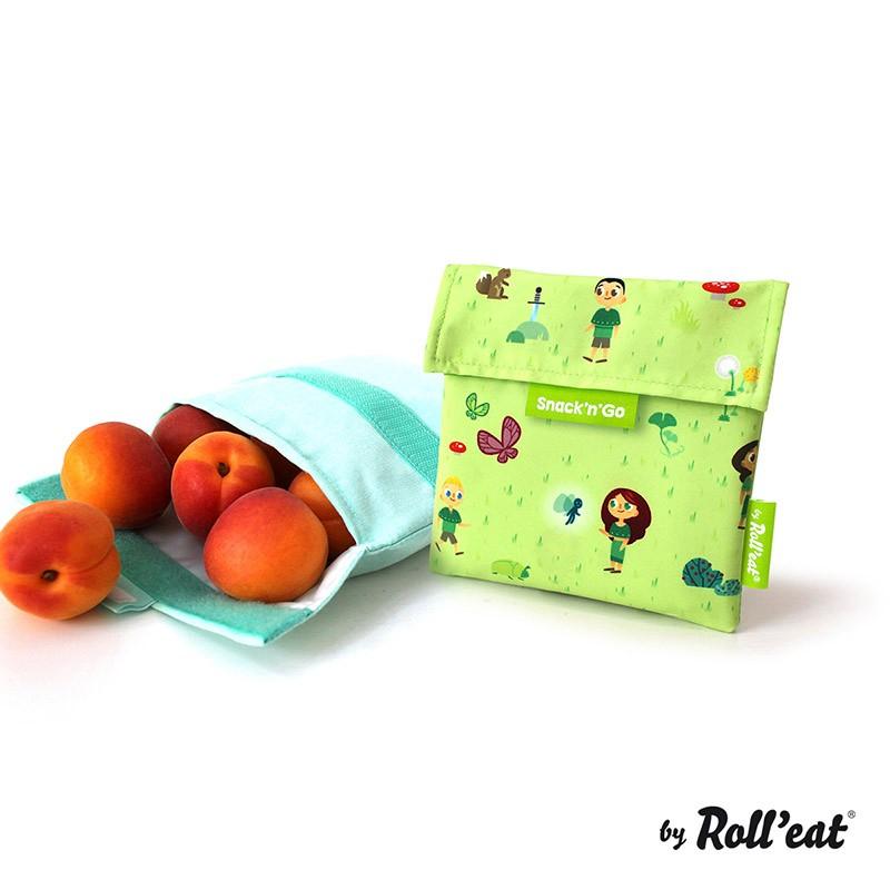 Snack'n'Go 環保食物袋-森林系列