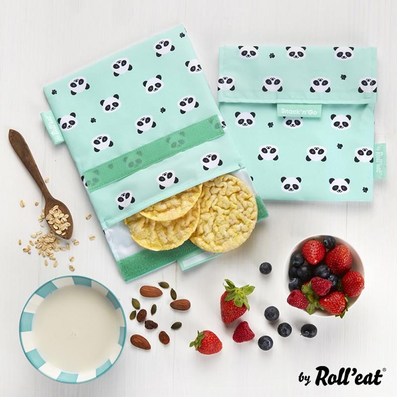 Snack'n'Go 環保食物袋-熊貓