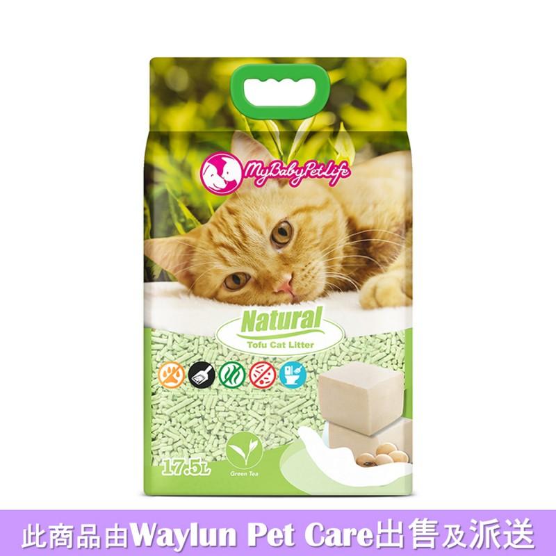 My Baby Pet Life天然豆腐貓砂綠茶香味