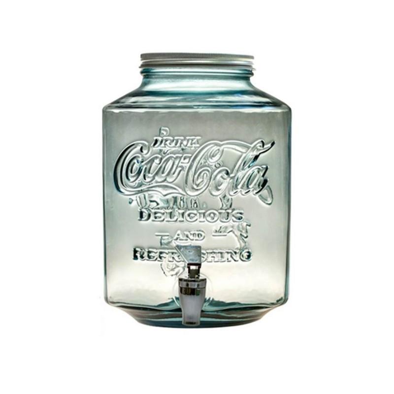 Coca Cola玻璃方身樽