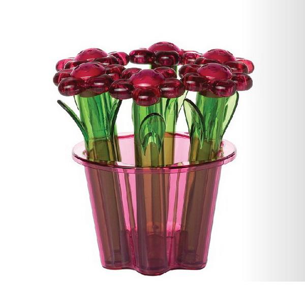 HEREVIN花盆造型香料瓶 6件