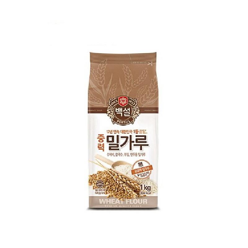 CJ白雪牌中筋麵粉