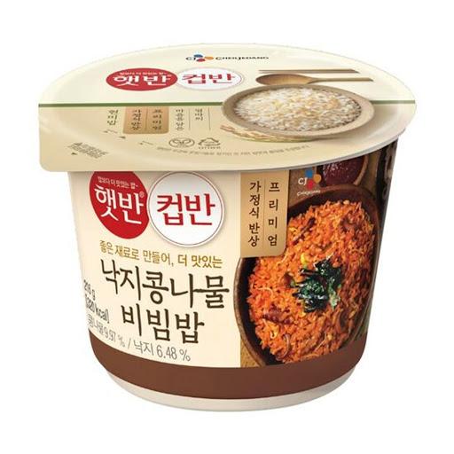 CJ章魚豆芽拌飯