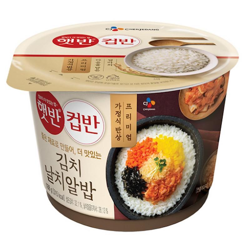 CJ飛魚籽泡菜拌飯
