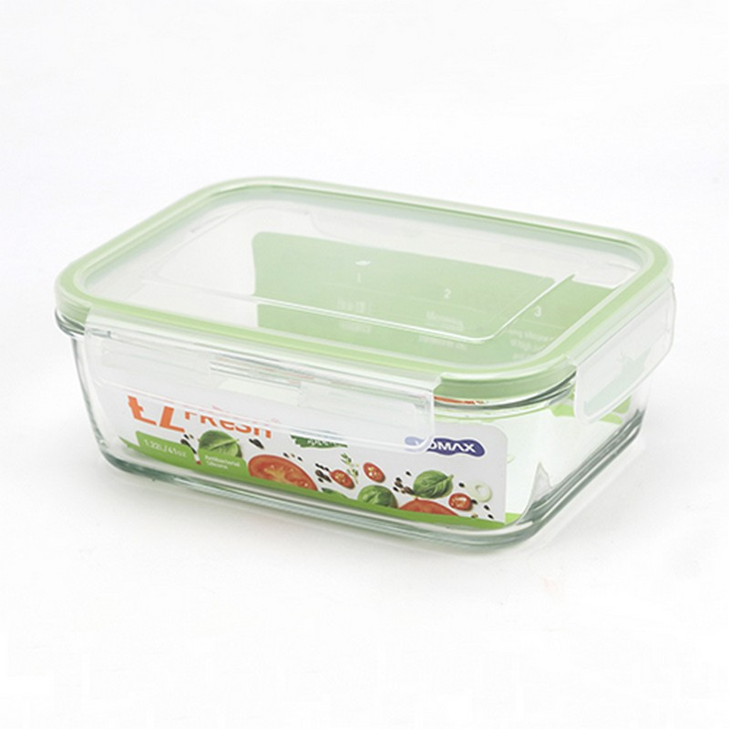 EZ FRESH長方形玻璃食物盒