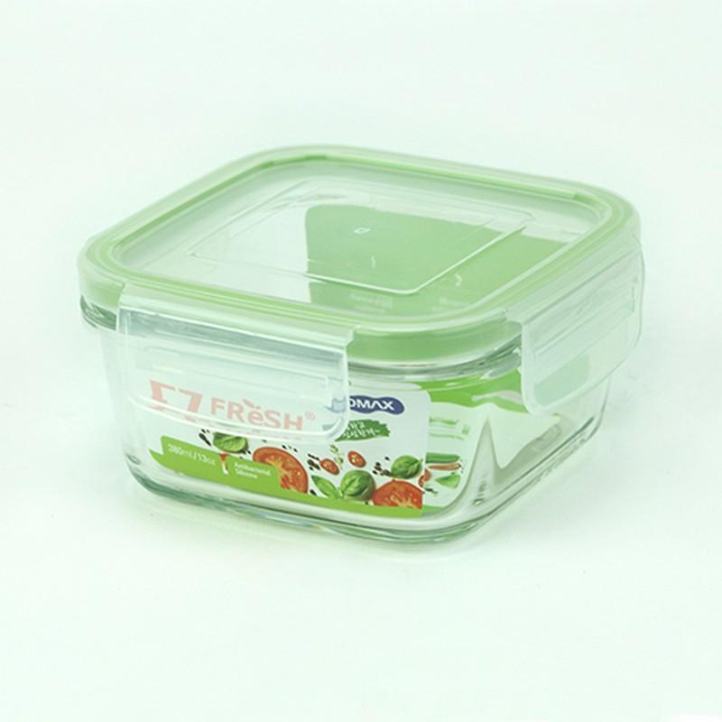 EZ FRESH微波爐用方形玻璃食物盒