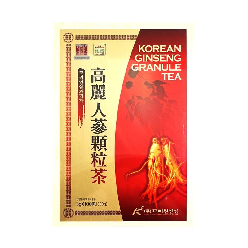 高麗元人蔘顆粒茶