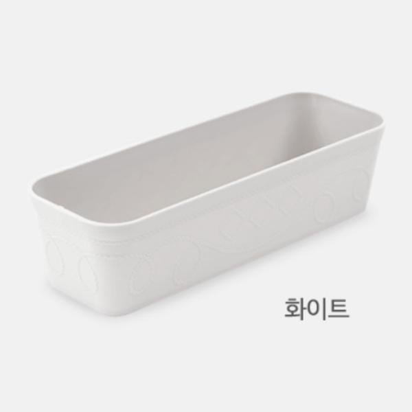 韓國製MBKO窄身收納膠籃
