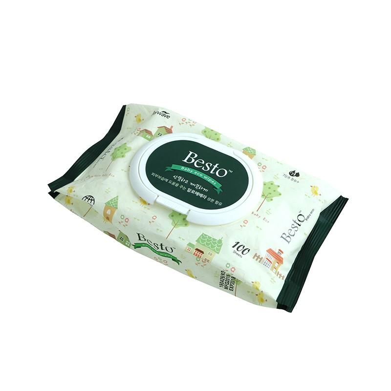 韓國製BESTO100片裝濕紙巾