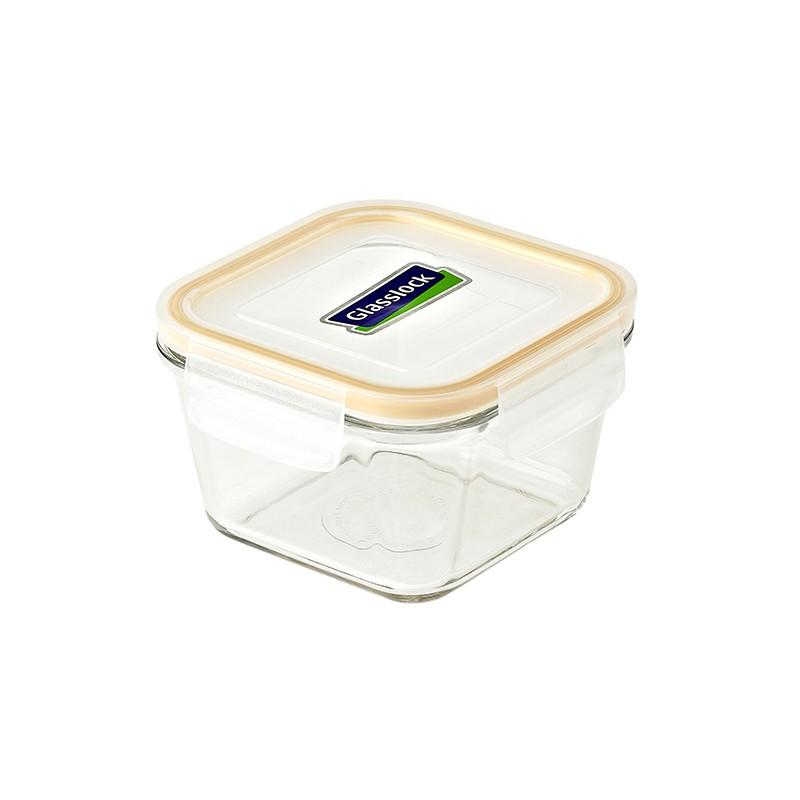 GLASSLOCK方形玻璃密氣盒