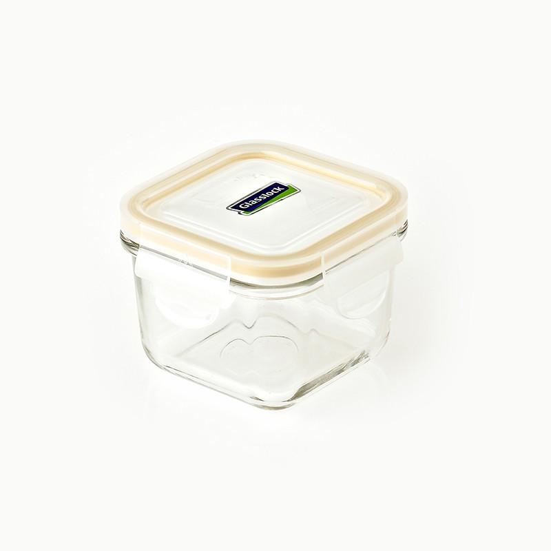 GLASSLOCK方形玻璃氣盒