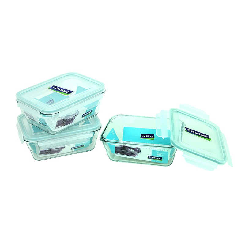 GLASS LOCK長形玻璃食物盒