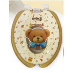 AGUARD小熊子母軟廁板