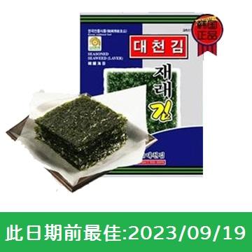 大川韓國原味紫菜