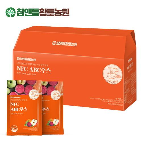 HWANGTONFC ABC果汁