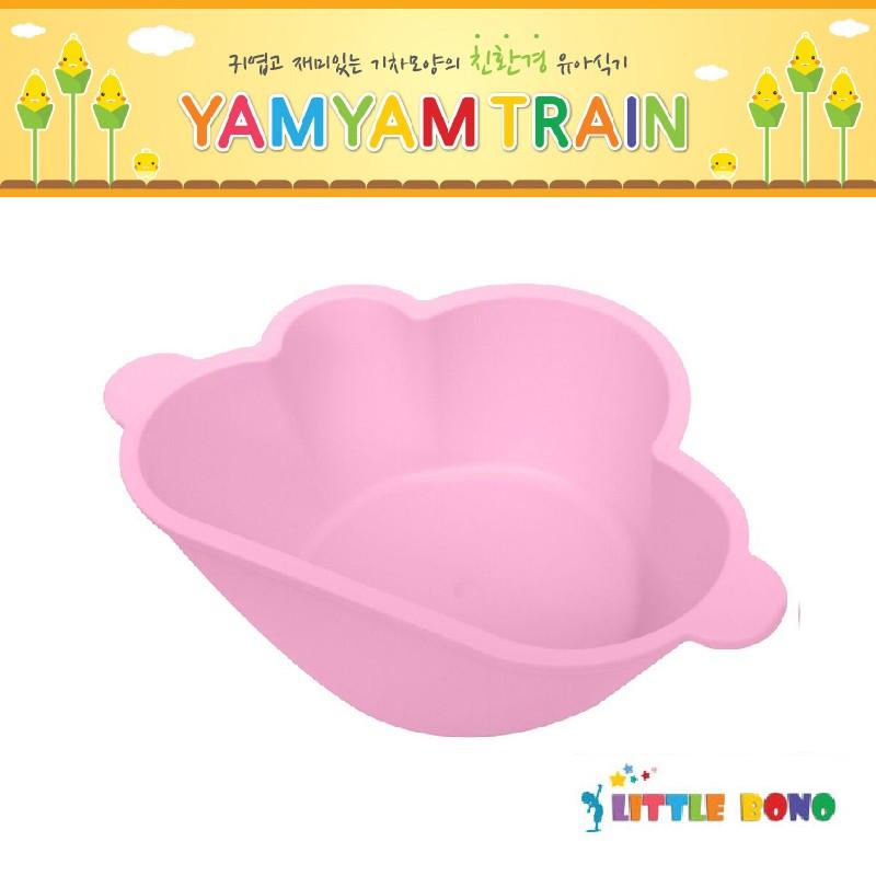 韓國Little bono雲朵食物碗粉紅色