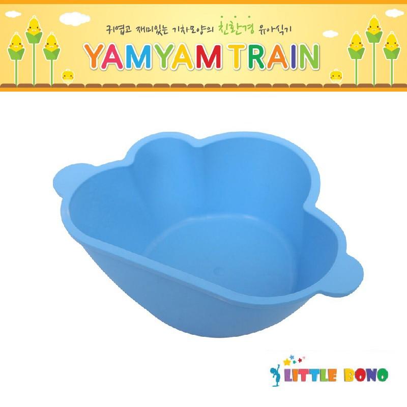 韓國Little bono雲朵食物碗粉藍色