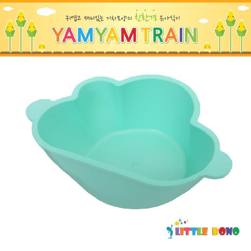 韓國Little bono雲朵食物碗綠色
