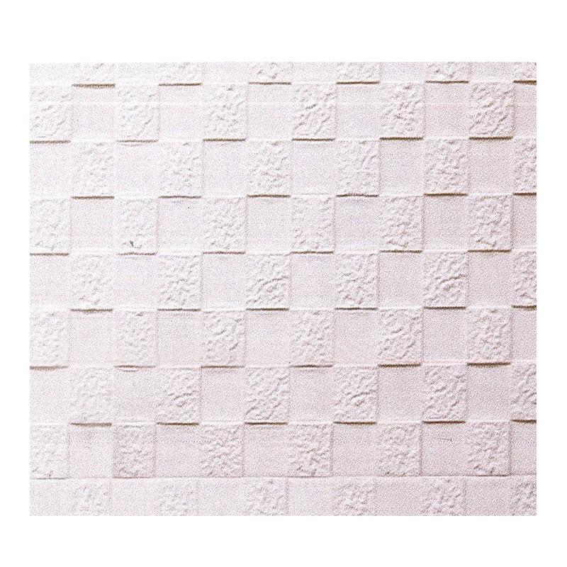 Q-ONE凹凸磚形DIY牆貼 (白) 71x77x1cm