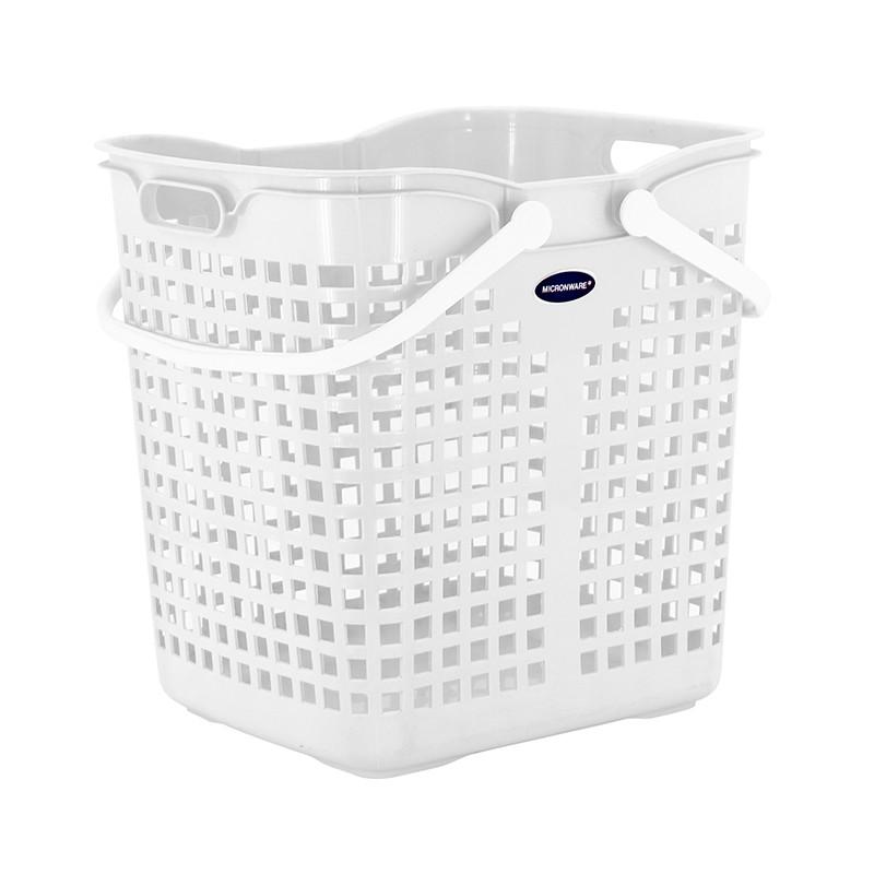MICRON洗衣籃 (白)