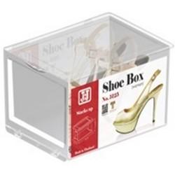 JCJ前揭式透明女裝鞋盒