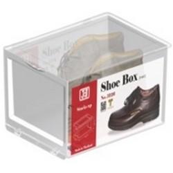 JCJ前揭式透明男裝鞋盒
