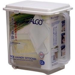 ALGO手挽有格揭蓋米箱 11kg