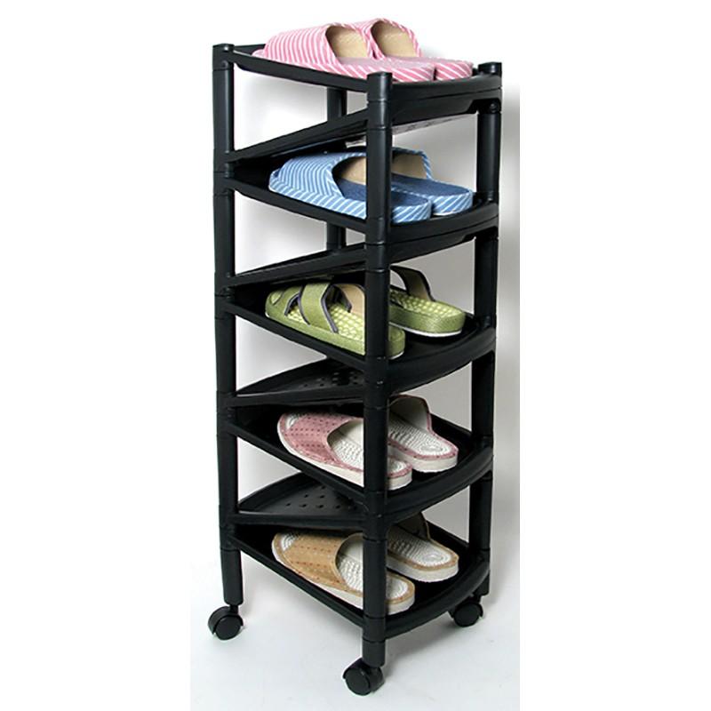 ALGO9層窄身膠鞋架