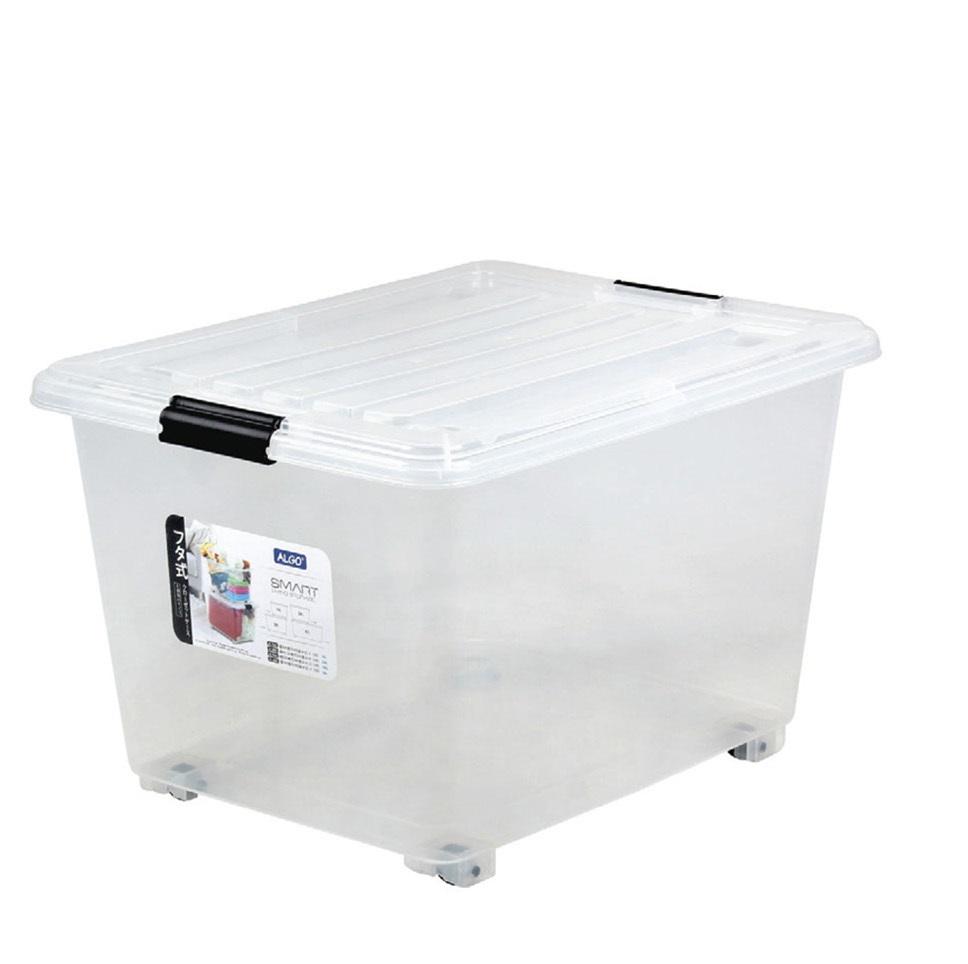 MIKI ALGO透明有轆儲物膠箱