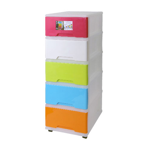 ALGO五層彩色珍寶層柜