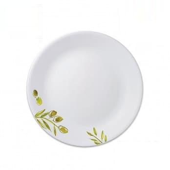 康寧圓形平碟橄欖園