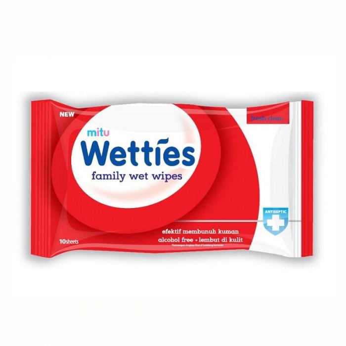 MITU抗菌10片濕紙巾