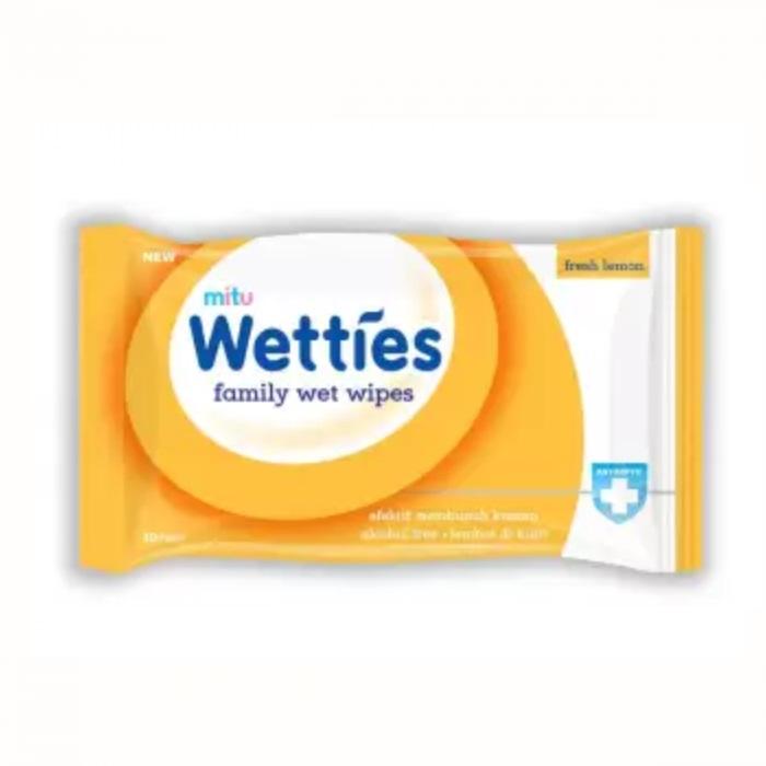 MITU 抗菌10片濕紙巾