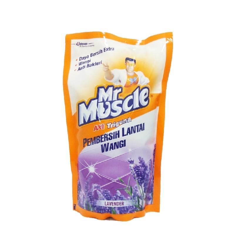 MR MUSCLE強力地板清潔液