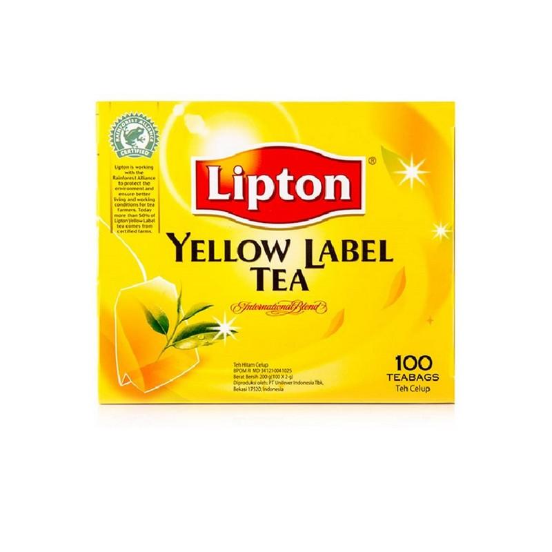 LIPTON黃牌紅茶包100'S