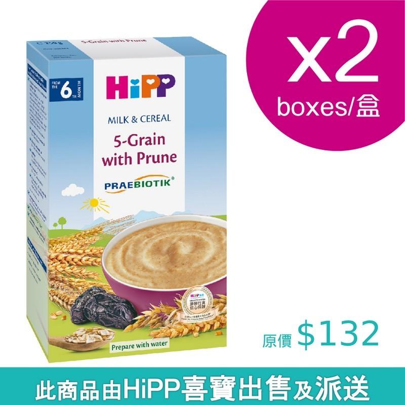 HiPP喜寶奶糊 西梅五穀