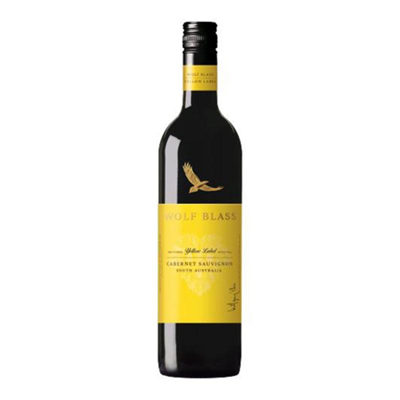 WOLF BLASS YELLOW LABEL赤霞珠紅酒750mL