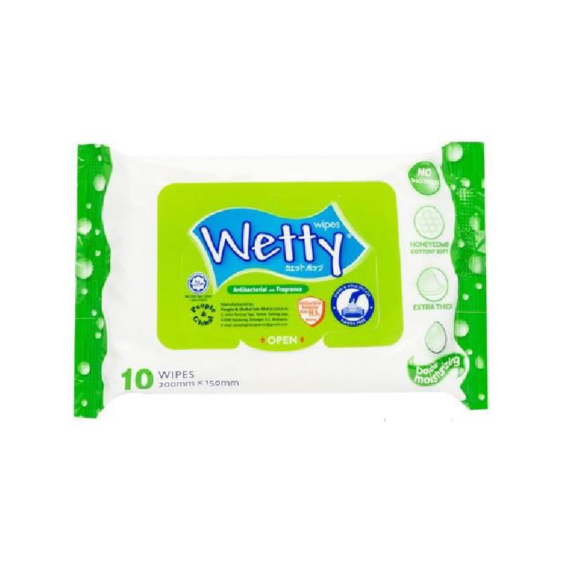 WETTY消毒濕紙巾10片